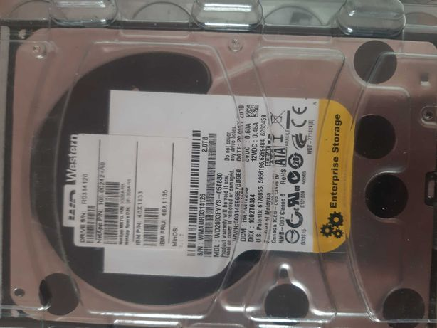 "Жесткий диск Western Digital RE4 2TB 7200rpm 64MB WD2003FYYS 3.5"" SATA"