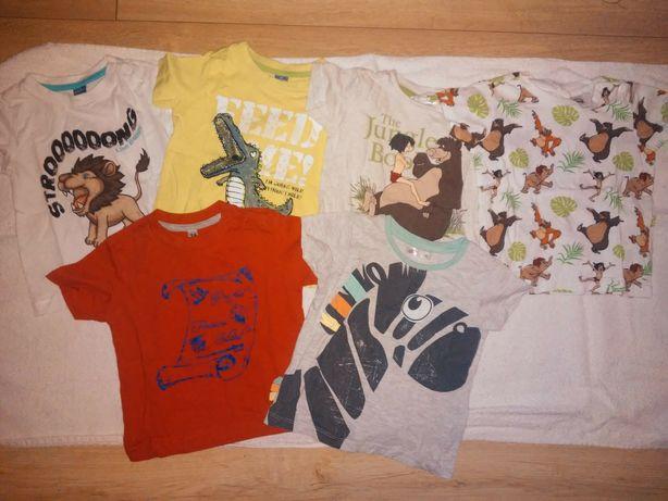 Zestaw koszulek 74 dla chłopca na lato