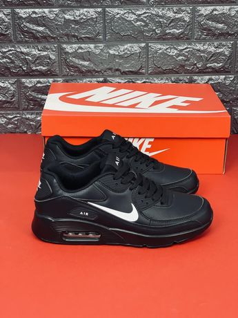 Nike Air Max 90 Кожаные кроссовки Найк Аир 90 Скидка Все размеры 35-46