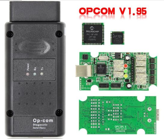 OP-COM сканер для авто OPEL v1.95