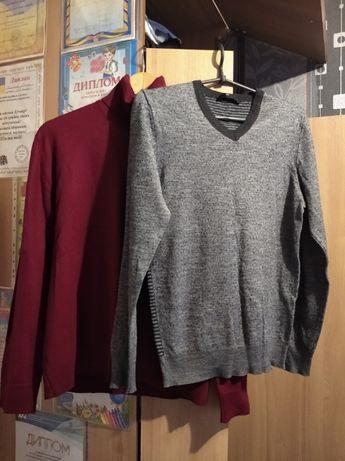 Водолазка свитер серая