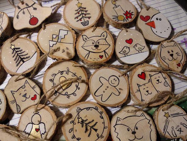Ozdoby świąteczne, ręcznie malowane, hand made, święta, podziękowania,