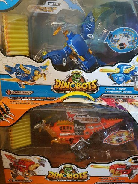 Dinobots Динобот трансформер Птерозавр робот Велоцераптор бластер дино