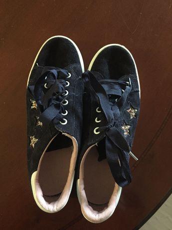 Sapatilhas/ténis menina azuis com estrelas T37