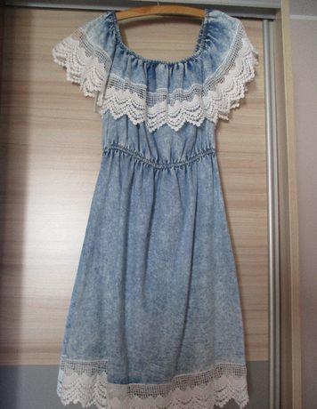 Sukienka, może być też ciążowa, roz uniwersalny