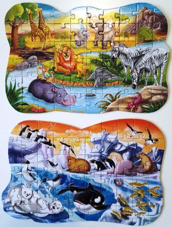 shaped puzzles clementoni puzzle puzle układanka