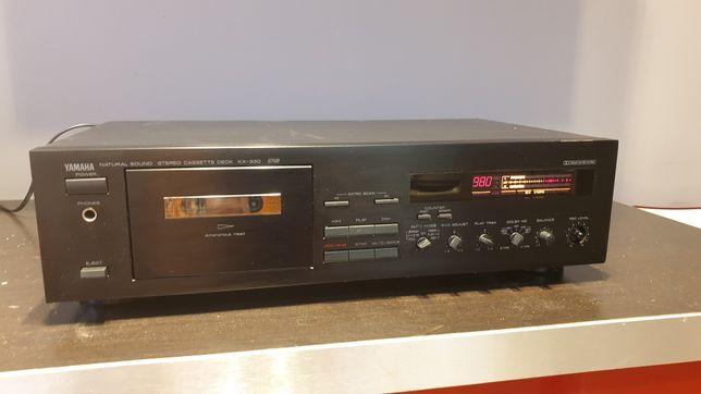 Magnetofon kasetowy deck Yamaha KX 330 RS