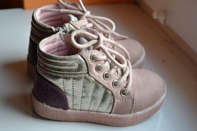 Półbuty dla dziewczynki Cool Club 21 i buty króliczki 21