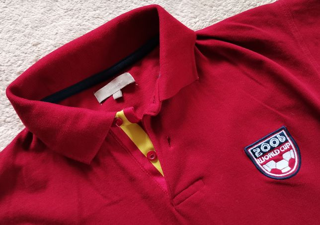 Mega koszulka polo Espana 7 World Cup 2006 Hiszpania S polówka