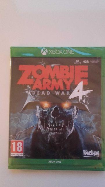 Xbox One Zombie Army 4 Nowa w folii PL