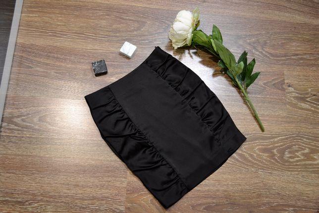 Атласна спідниця юбка H&M
