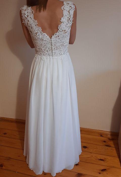 Piękna Suknia ślubna Złotniki Kujawskie - image 1