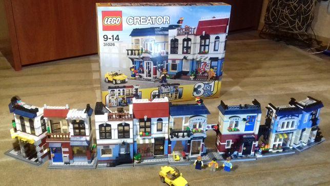 LEGO CREATOR Веломагазин и кофейня 31026 (оригинал)
