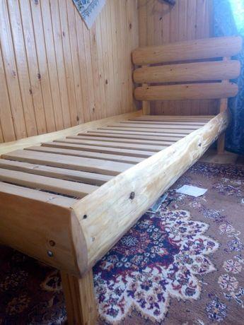 Дерев'яне ліжко, кровать .80*200