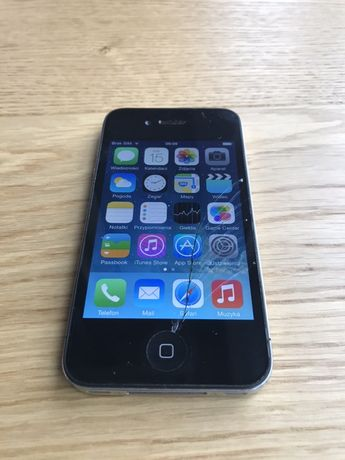 iPhone 4, Black, 16GB