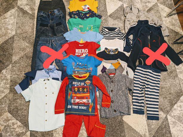 Sprzedam ubrania dla chłopczyka r.98