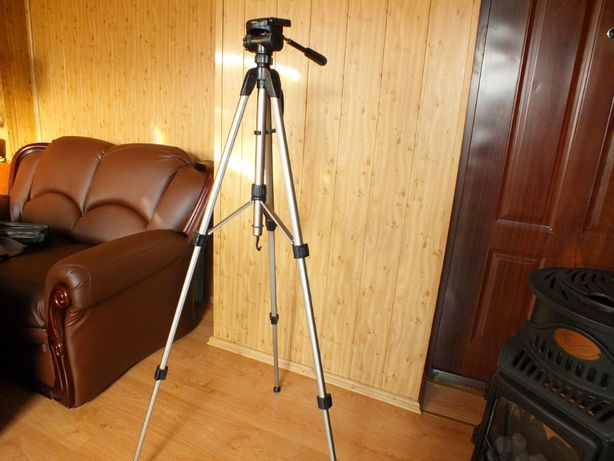 Statyw Hama tripod STAR 62 135-3D złoty 60-160cm + Pokrowiec