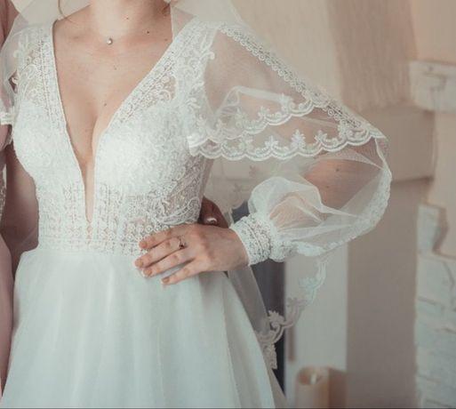 Продается свадебное платье в идеальном состоянии