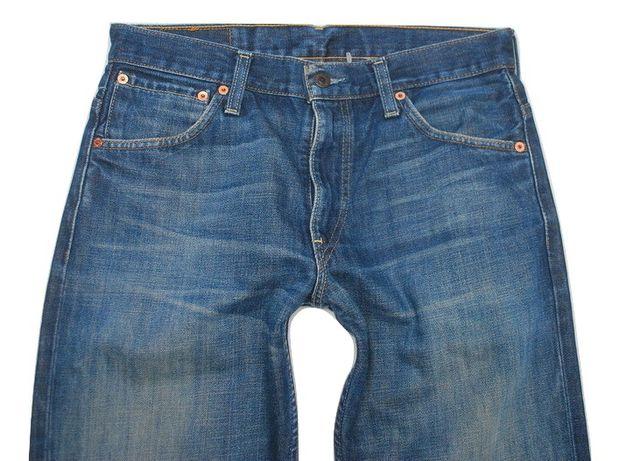 Wygodne Spodnie Jeans Levi's 31/34 507