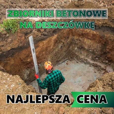 Zbiornik betonowy Szambo betonowe Szamba Deszczówka GWARANCJA 5LAT