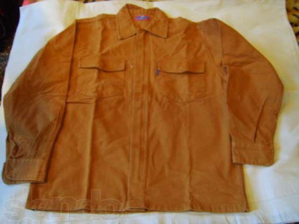 Джинсовая курточка- рубашка.