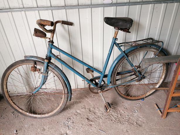 Stary rower Damka do renowacji