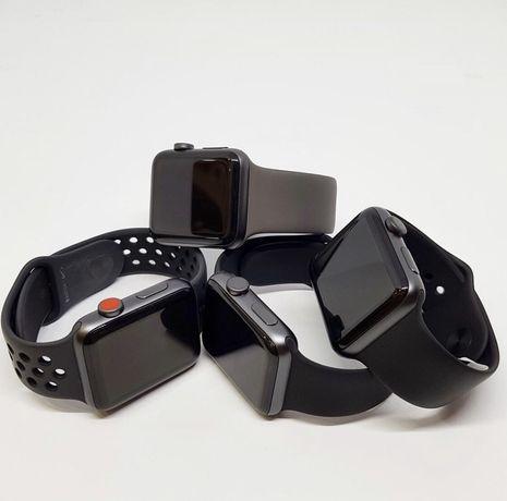 Apple Watch 3 Series 38/42 mm Black новые open box: обмен, рассрочка