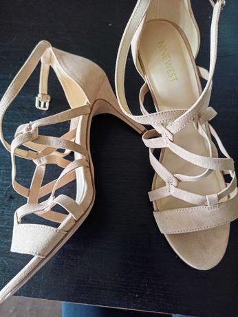 Szpilki sandały nine west