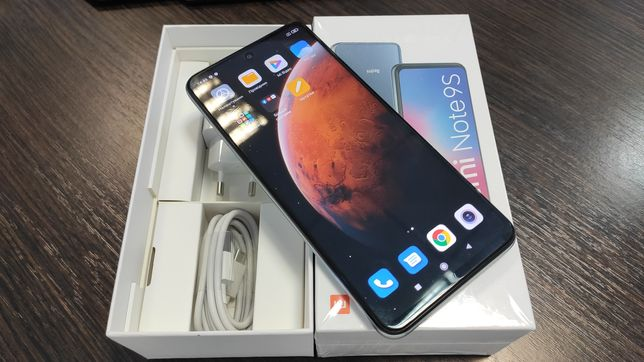 Xiaomi Redmi Note 9S 6/128GB White Global Version