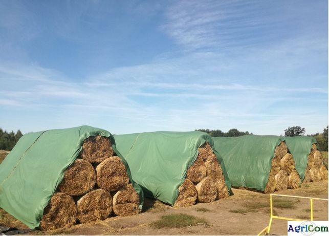 Fliz,agrowłóknina sprawdzony sposób na przechowywanie bel siana, słomy