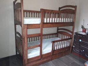 Двухъярусная кровать Арина от производителя по супер ценеЯщики+матрас