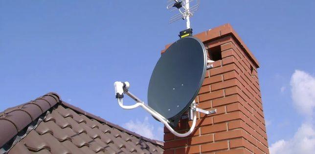 Ustawianie Montaż Anten Satelitarnych oraz DVB-T Częstochowa i okolice