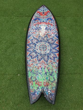 DHD Twin Fin 5,5 28L  com quilhas MR