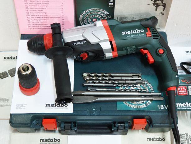 METABO UHE 2660-2 młotowiertarka wiertarka SDS moc 800w udar-2,8J