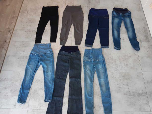 Spodnie ciążowe. Jeans , bawełna. 7szt