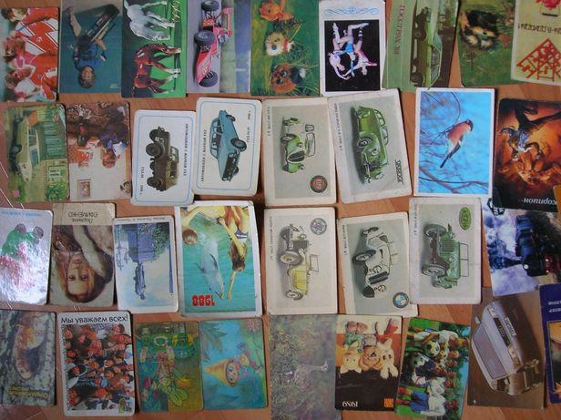 Коллекция календариков 80х - 90х
