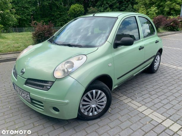 Nissan Micra 1.2 Ben+LPG 65KM Krajowy Wspomagan El. szyby Opony zimowe Stan B Dobry