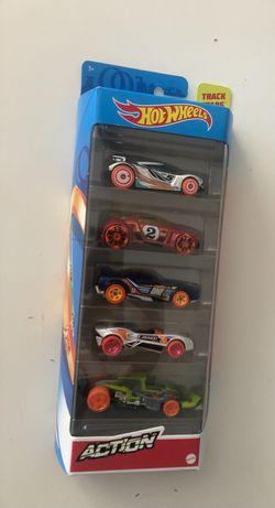 Hot Wheels Action zestaw 5 samochodów