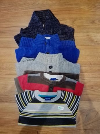 Sweterki dla 4-5latka