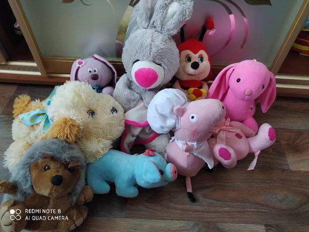Мягкие игрушки, кукла, Свинка Пеппа