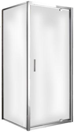 Kabina prysznicowa narożna MESO 90x90x190 cm uchylna kwadratowa