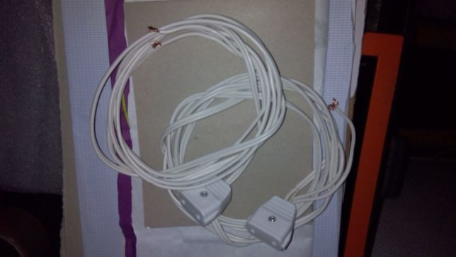 Lote 2 extensões de corrente com 2,10cm