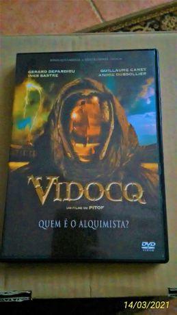 DVD Vidocq Filme de Pitof André Dussollier Gérard Depardieu Gui Canet