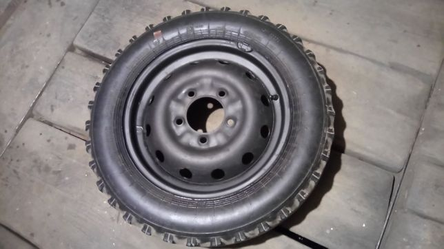 Запаска нива колесо на ваз r16 диск с резиной 2121 5х139.7 р16