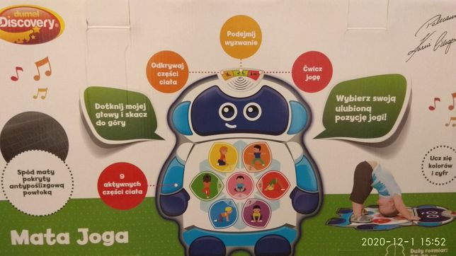 Nowe Dumel Discovery, edukacyjna mata joga