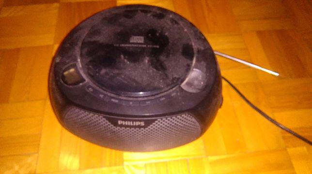 radio cd sieciowo-akumulator