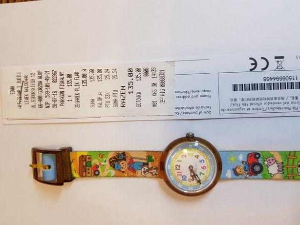 Zegarek Flik Flak (Swatch) dla dzieci.