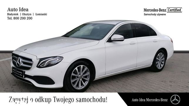 Mercedes-Benz Klasa E Salon Polska, faktura VAT23%
