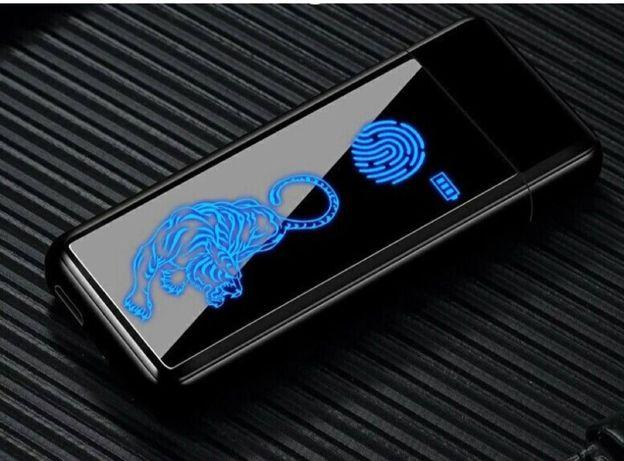 Подарочная USB зажигалка. Запальничка юсб з логотипом