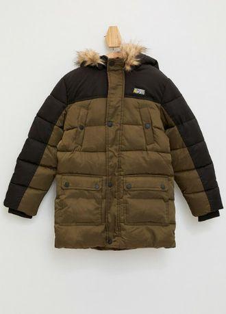 Фирменная зимняя куртка на мальчика 6-7 лет 116/122 рост